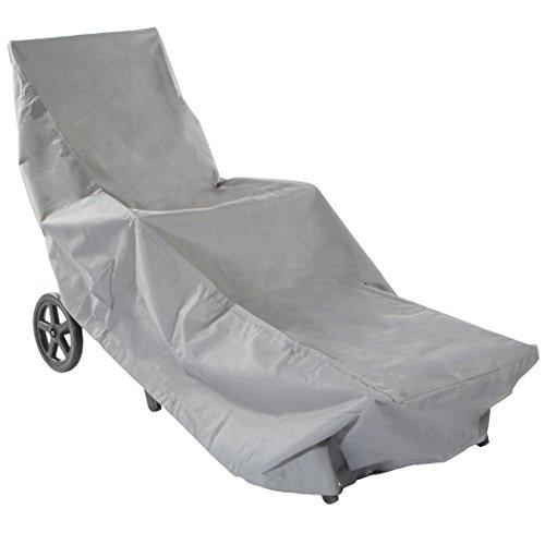 Ultranatura Sylt stoffen hoes voor ligstoelen, weerbescherming voor vierkante tafel