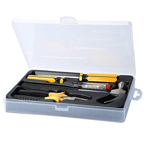 Kit de herramientas para el hogar, reparación del hogar, kit de herramientas manuales para el hogar, garaje, taller, 5 piezas
