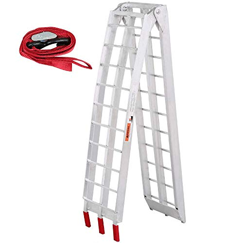 Yaheetech - Aluminum ATV Motorcycle Loading Ramp