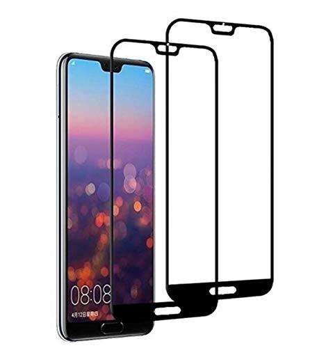 Kompatibel mit Huawei P20 Pro Panzerglas Schutzfolie Huawei P20 Lite 3D Tempered Glas Schutzglas [2 Stück] HD Panzerfolie Anti-Kratzen Anti-Öl Displayschutzfolie (2, Huawei P20)
