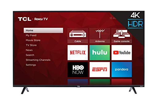 TCL 55S425 55 inch 4K Smart LED Roku TV...