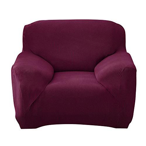 Funda de sofá elástica para sofá ajustado con todo incluido (morado de 1 plaza)-226931.33