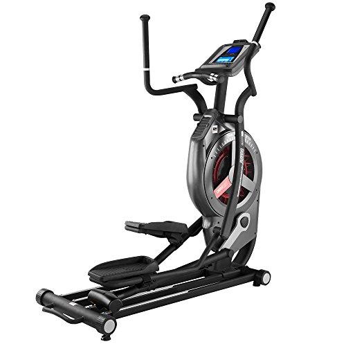 BH Fitness LK8890 G889 Bicicletta ellittica - professionale - Allenamento HIIT - Falcata 53 cm - Resistenza Aria+Magnetica