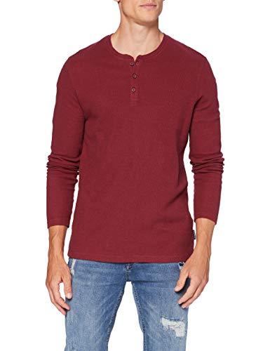 Springfield 3Ip Estruc Doble Panadero-C/69 Camiseta, Marrón (Maroon 69), M (Tamaño del Fabricante: M) para Hombre