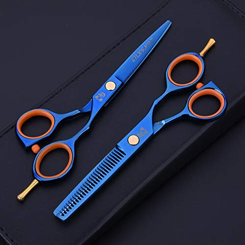 Set Friseurschere, Professionelle Haarschere Ausdünnungsschere Schere Friseurschere Für Salon, Friseur Oder Haushalt, Leicht Und Scharf