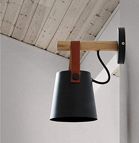 MQJ Pared Light Wall Sconce Lamp E27 Lámpara de Pared Led Iluminación de Pared Lámpara Industrial Moderna Lámpara de Pared Lámpara de Pared Lámpara de Lámpara de Techo Loft para Dormitorio, Sala de E
