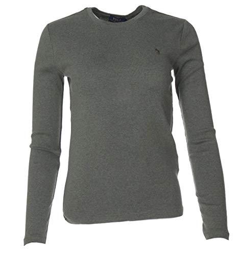 Ralph Lauren Damen Pullover - Einfarbig (Grün, S)