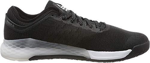 Reebok Nano 9, Zapatillas de Gimnasia Hombre, Negro (Black/White/None Black/White/None), 40.5 EU