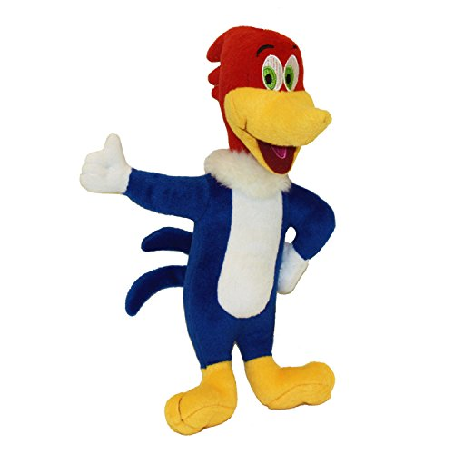 Multipet Woody Woodpecker Officially Licensed Plush Laughing Dog Toy, 11-Inch