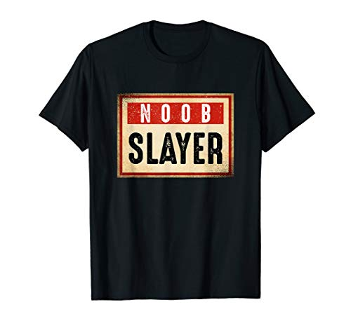 Noob Slayer Console PC Shooter Pro Gaming Gift T-Shirt