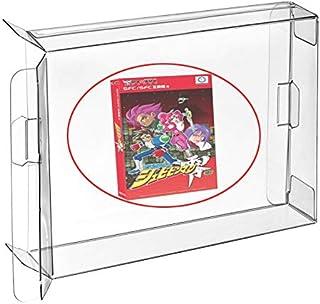 WiCareYo SFCゲーム用10個入りゲームボックスカートリッジケースプロテクタースリーブ日本版