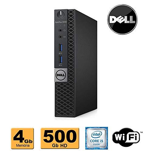 Cpu Mini Computador Dell Optiplex 3040 Intel Core i5 6500t 4Gb DDR3 HD 500Gb