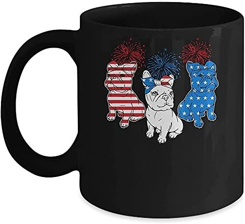 French Bulldog American Flag 4th Of July Independence Day Mug-godiva Hot Chocolate Gift Set With Mug-maga Dad
