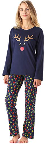 Merry Style Mädchen Jugend Schlafanzug MS10-192 (Marine Geschenke, 170)