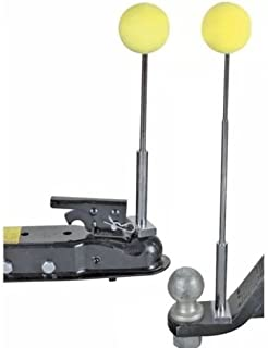 [ALL STAR TRUCK PARTS] Magnetic Telescoping Trailer Hook-up/Hitch Alignment System Kit - Easy Install!