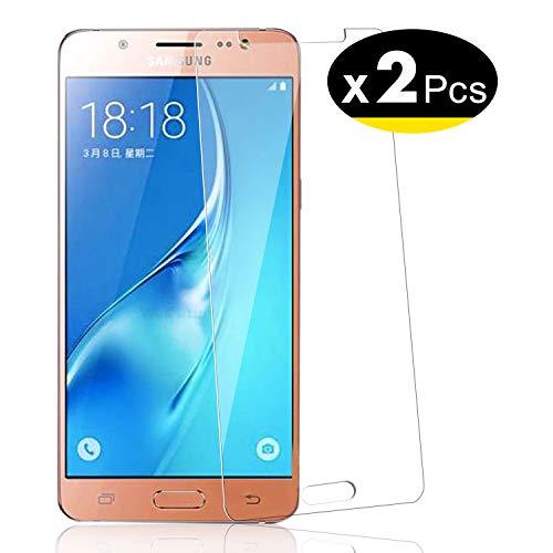 NEW'C Pacco da 2 Pezzi, Pellicola Protettiva in Vetro Temperato per Samsung Galaxy J5 2015 (SM-J500)