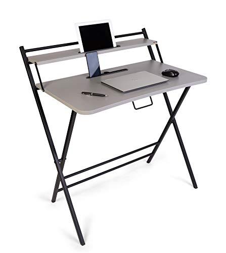 WOODWARE Premium Foldable Laptop Table | Study Table | Desk...