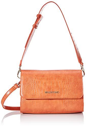 Mario Valentino Valentino by Damen Summer Memento Umhängetasche, Orange (Arancione), 8x15x23 cm