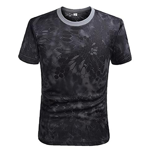 EElabper Combate de Secado rápido Camiseta Camiseta...