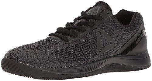 Reebok Women's CROSSFIT Nano 7.0 Sneaker, Lead/Black/Black, 7.5 M US