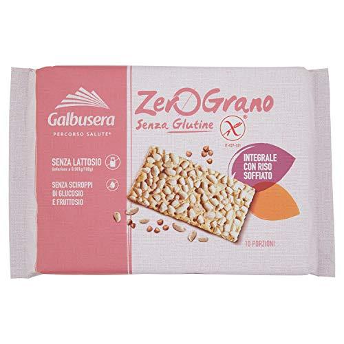 Zero Grano Cracker Integrale senza Glutine, 10 x 36g