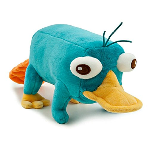 Disney Phineas and Ferb - Plush Mini Bean Bag Toy - 10in PERRY