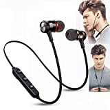 Bluetooth v4.2+EDR, support stereo music, Super mini true wireless in-ear design, portable and cool. Built-in rechargeable battery, come with a charging cable. Noise cancellation design, perfect sound quality, Sweat Proof. Built-in microphone, answer...