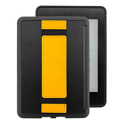 Amazon Kindle Case - The Thinnest and Lightest Silicone Skin Case for Kindle Paperwhite Case (10th Generation-2018) (Yellow)