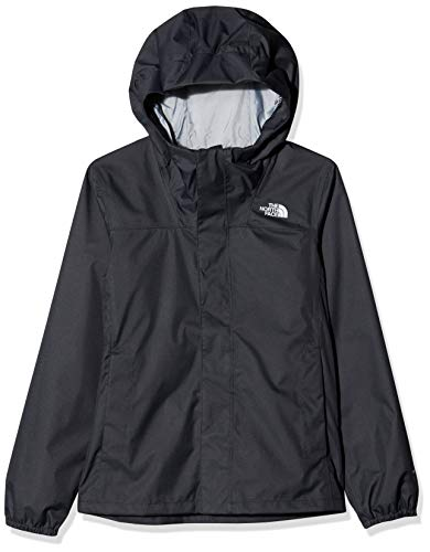 The North Face Y Resolve Reflective, Giacca Impermeabile Unisex Bambini, Nero (TNF Black), XS
