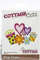 """CottageCutz Dies-Party Favors, 2.9""""X1.9"""""""