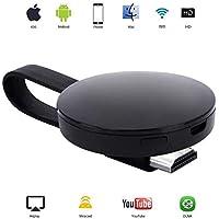 WiFi Inalámbrico Dongle de Pantalla Mini Receptor de 1080P Compartiendo Video HD de proyectores Teléfonos celulares Tableta Soporte Airplay TV Miracast Dongle