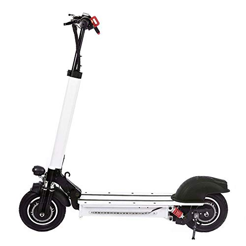 CZPF Skateboard, elektrisch, opvouwbaar, voor longboard, elektrische scooter, met LED, aanmaakblok, 2 wielen, 1200 W