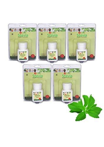 So Sweet Stevia 500 Tablet Sugar Free Natural Zero Calorie Sweetener For Diabetes Control - (Pack of 05)