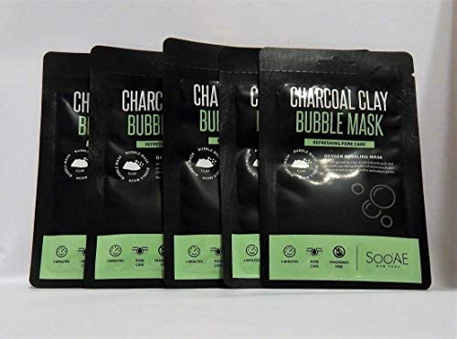 5X Soo Ae Charcoal Clay Bubble Mask 0 35 oz Each product image