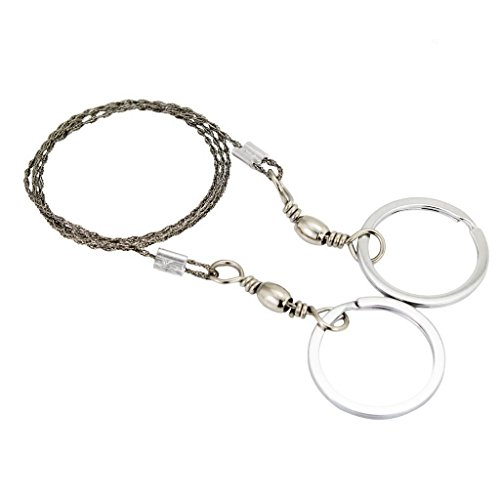 Survival Saw Wire Saws Universal Saw Camping Saw, Commando Wire Saw Bulk,Ideal for Survival Kits