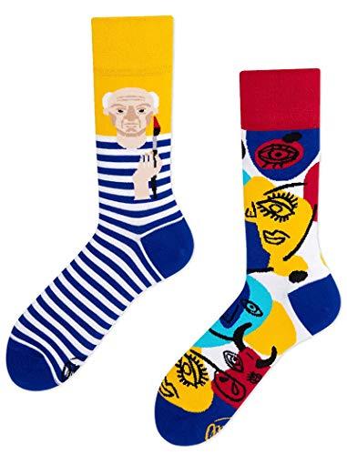 Many Mornings unisex Socken Picassocks (39-42)