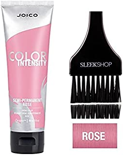 Joico Color Intensity Semi-Permanent Creme Hair Color (with Sleek Tint-Brush) (Rose)