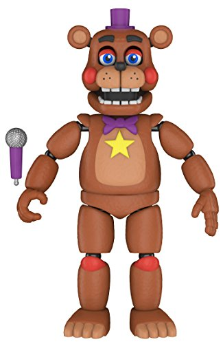 Funko 32140 Action Figure: Five Nights at Freddy's Pizza SIM: Rockstar Freddy Sammelbares Spielzeug, Mehrfarben