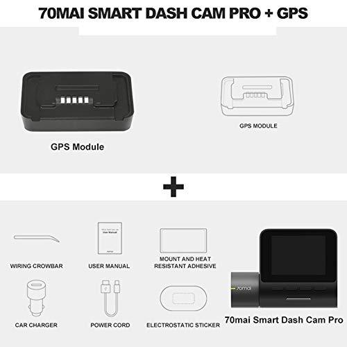 ZJ Original 70mai Dash CAM Pro 1944P Coordina La Velocidad GPS 70mai Pro Car Dash Cámara WiFi DVR Control De Voz