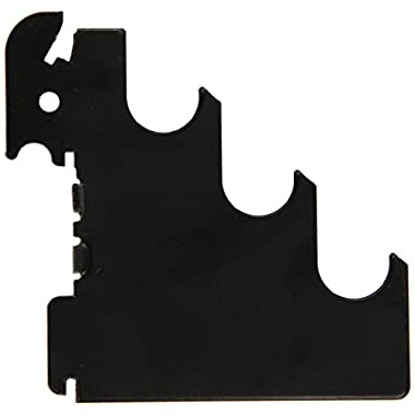 Wall Control 10-CR-105 B Slotted Metal Pegboard Rod Bracket Pair Accessory Pack for Wall Control Pegboard Only, Black