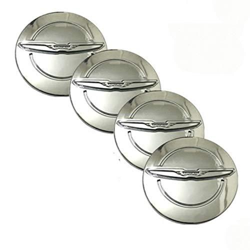 4 unids 64mm Cajas de ruedas de automóvil Caps Caps Caps del...