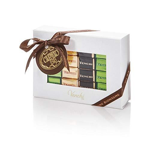Venchi Cioccolatini Cremini Assortiti in Scatola Bianca da 166g