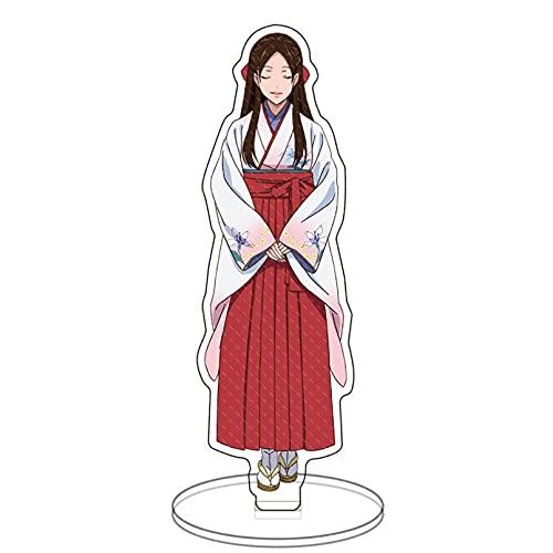 NAJING Anime Model Toys.Anime Kakegurui Figure Jabami Yumeko Acrylic Stand Character Model Plate Holder Desktop Decoration Stationery Toy Collection