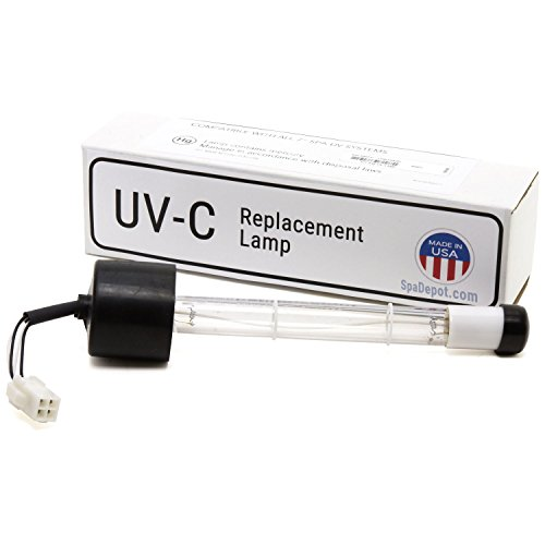 Ultra-Ray Clear UV-C Quartz Bulb Replacement XL for Sundance/Jacuzzi Hot Tub Spa
