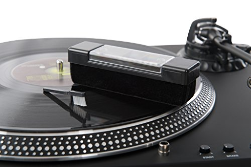Acc-Sees Pro Vinyl Velvet Brush Record Cleaner – Includes...