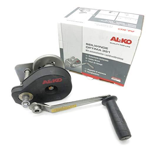 AL-KO- Seilwinde gebremst PLUS • Typ 351 PLUS • ohne Seil / Band bis 350kg