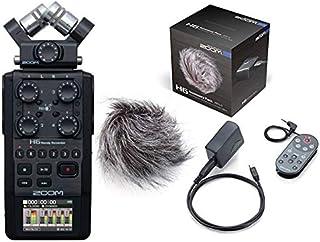 ZOOM ズーム - ハンディーレコーダー H6 BLK ブラック + アクセサリーパック APH-6 セット