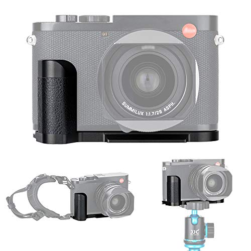Handgriff Kameragriff fur Leica Q2 Verbessertes Handling Arca Swiss schnellwechselplatte kompatibel mit Stativ Akku direkt wechseln Metall L Bracket