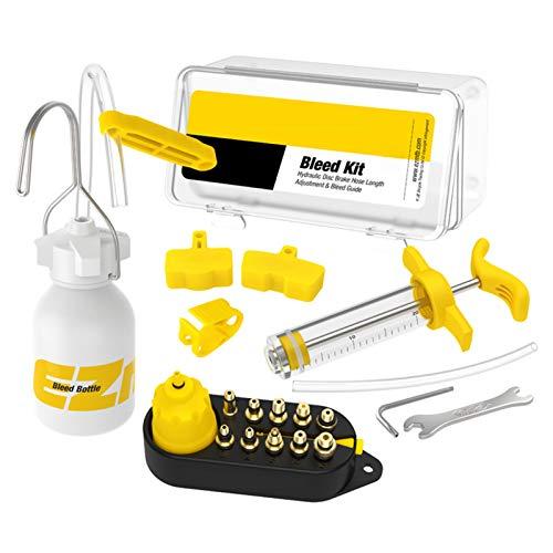 Kit de ventilación para bicicleta, kit de ventilación de frenos hidráulicos, kit...