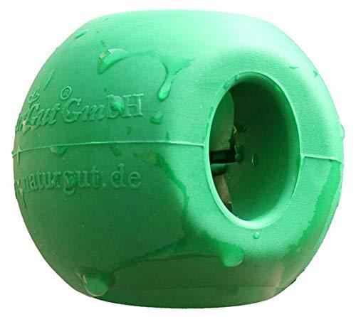 NaturGut magnetische wasbal voor wasmachine en vaatwasser, magneetbal, 6 cm, van hard rubber, beschermt tegen wasgoed en wasmachine, milieuvriendelijk